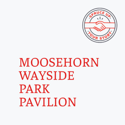 Red River Mutual's Spruce Up Your Story 2020 winner Moosehorn Wayside Park Pavilion in Moosehorn Manitoba