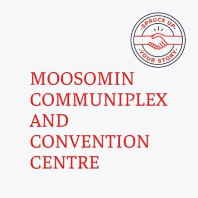 Red River Mutual's Spruce Up Your Story 2020 winner Moosomin Coimmuniplex and Convention Centre in Moosomin Saskatchewan