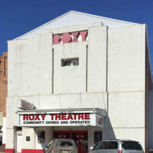Red River Mutual's Spruce Up Your Story 2020 winner Roxy Theatre in Neepawa Manitoba