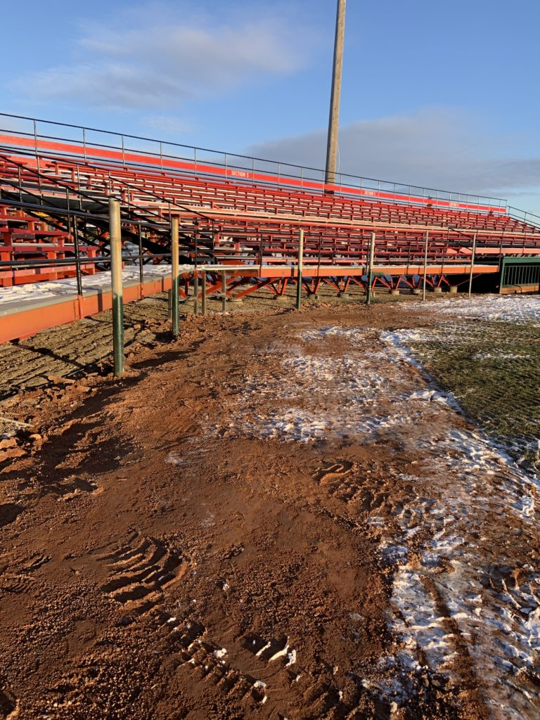 Andrews Field in Brandon Manitoba gets a Spruce Up Your Story Upgrade from Red River Mutual