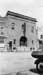 Historical image of the Roxy Theatre